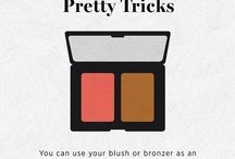 Pretty tricks / Tips and Tricks for beauty and hair