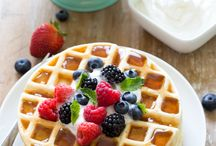 Waffles / A waffle a day keeps the doctor away. Right?