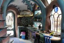 Hobbit style: cob houses