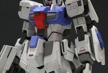 Robots mech and gundam