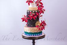 Asian wedding cakes @ The Enchanting Merchant Company / Asian wedding cakes