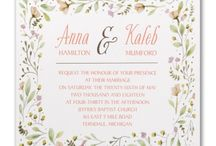 Think Spring! / Gorgeous spring invitations and accessories available exclusively at Persnickety