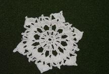 Crochet Stars / Szydełkowe gwiazdki