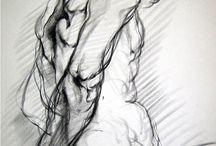 figure drawing / by Savannah Wu