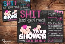 Joy's Twin Baby Shower