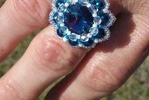 My rings/Gyűrűim /  Gyöngyből készült egyedi gyűrűk minden alkalomra, bármilyen ruhához. ! Pearl rings are custom made for any occasion, any outfit. !