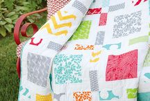 Modern Quilts / Fresh and new colours and designs in quilts