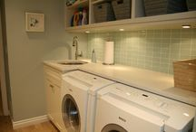 Laundry rooms / by Michelle Newell