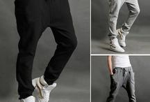 Harem Pants / drop crotch