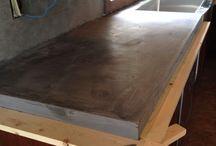 cement countertop