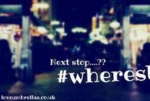 #WheresBrolly / The travels and happenings of our #wheresbrolly umbrella...