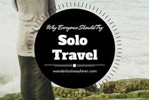 Solo Travel / Solo travel doesn't have to be hard with these solo travel tips and tricks from independent travellers.