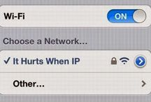 Funny Wifi and Hotspot Names / Funny wifi and hotspot names