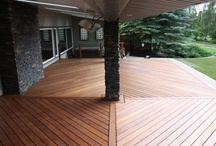 Decks / Decks are an amazing addition to any house. They provide extra living space outdoors for barbequing, socializing, suntanning or just relaxing. We can build any size deck, even multi-tiered, or second story balconies. You can choose from wood or composite with railings made of wood, steel or glass. Our decks are cemented in the ground so you can be sure they are sturdy and solid. Old deck worn and falling apart? We can demolish and haul away to make room for your brand new deck!