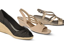 A Slice of Summer / Rise to new heights in comfort and style with the season's must-have wedges from LifeStride. Worn day or night, spring or summer, this go-to silhouette creates a feminine look no wardrobe should be without. This spring, dish yourself a slice of summer style with a fashionable pair of wedge sandals.