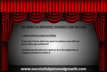 101 Ways to Motivate Yourself for Success / Motivation Tips