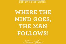 2015 Love Life Women's Conference / Joyce's Annual Women's Conference held in St. Louis, Missouri. The 2015 conference will be held September 17-19, 2015. Special guests include Craig Groeschel, Darlene Zschech, Matt Redman, Christy Nockels & Anthony Evans, Jr. / by Joyce Meyer Ministries