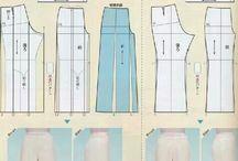 Molde de calça