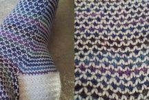 Mønsterstrikk / Div enkle mønstre