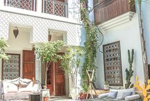 Postcards from Morocco / Moroccan-inspired interior finishes and decor