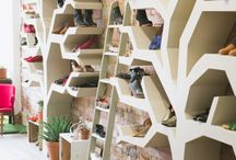 Shop Front Inspo / All things we adore, want and need. What's a retail experience without a few hundred indoor plants, wooden floors and a collection of strictly comfy shoes?