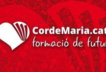 Nova imatge Fundació Educativa Cor de Maria / #Disseny de nova imatge per Fundació Educativa Cor de Maria