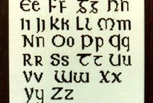 Cross Stitch - Alphabet/Numbers / Cross Stitch - Alphabet/Numbers