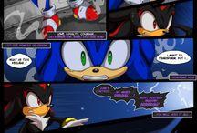 los dark de los personajes de sonic
