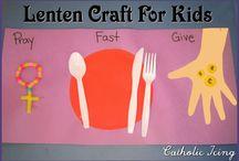 Lent / Crafts for children