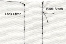 B) sewing tips/learning / by clarke