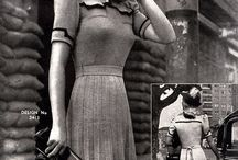 Женский костюм 1940