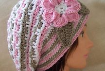 Crochet hats mitts and scarfs / Hats, mitts and scarfs in crochet ;)  / by Lee Anne Bourque