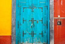 Doors + colours