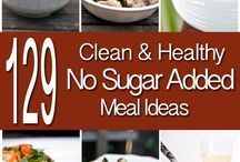 Sugar free foods and drinks / Food