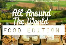 ALL AROUND THE WORLD • FOOD EDITION! / **NEW BOARD** FOOD FROM ALL AROUND THE WORLD! COMMENT TO JOIN ❤ INVITE YOUR FRIENDS ❤