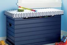 Boys toy boxes / Storage
