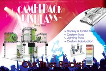 TRUSS IS OUR LIFE!!!! / We offer tons of truss options for displays, exhibits, concerts, lighting and more! http://www.camelbackdisplays.com/Truss-Exhibits.htm
