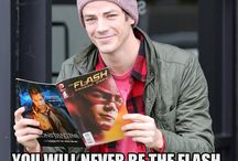 The Flash / Do you think you are cool? If you are the fastest man alive you are right. Cause this means you are Bary Allen.