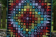 Dear Jane Projects - Amazing Quilts and Cross Stitches