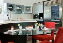 Magnificently Modern - Kitchen & Bath / Smooth clean edges, decidedly Modern in look, feel and functionality.  We can take your idea's and make them your reality!  Kitchen and Bathroom Cabinets & Countertops