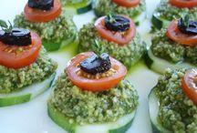 Vegan appetizers & party noms / by Katie Ostrowka