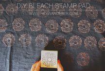 Bleach Stamping