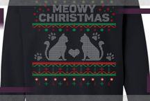 Christmas Cat Shirts