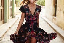 boho dresses summer