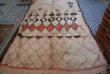 Morrocan carpets and rugs