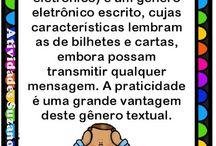 Gêneros textuais e pontuação