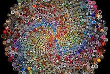 Artă cu butoni