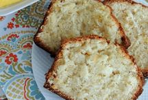 loaf & pound cakes / by Susan Lowery