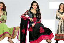 Partywear Salwar Suit / fashion Femina Partywear Salwar Suit collection at 10% off with Free Shipping across INDIA