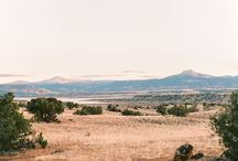 Georgia O'Keefe art inspired wedding at Ghost Ranch by New Mexico wedding photographer Lisa O'Dwyer